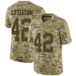 Nike Cory Littleton Las Vegas Raiders Men's Limited Camo 2018 Salute to Service Jersey