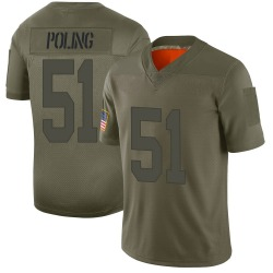 Nike Quentin Poling Las Vegas Raiders Youth Limited Camo 2019 Salute to Service Jersey